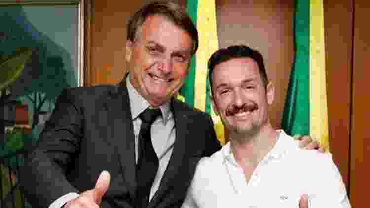 Jair Bolsonaro e Diego Hypolito - Reprodução/Instagram  - Reprodução/Instagram