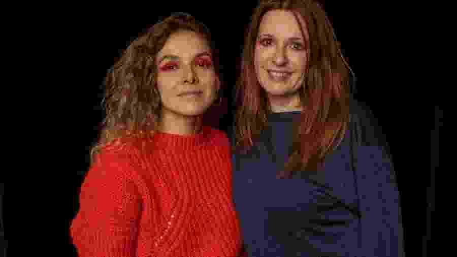 Yasmine Sterea, da plataforma Free Free, e Valéria Scarance, coordenadora do núcleo de gênero do MP-SP - Divulgação