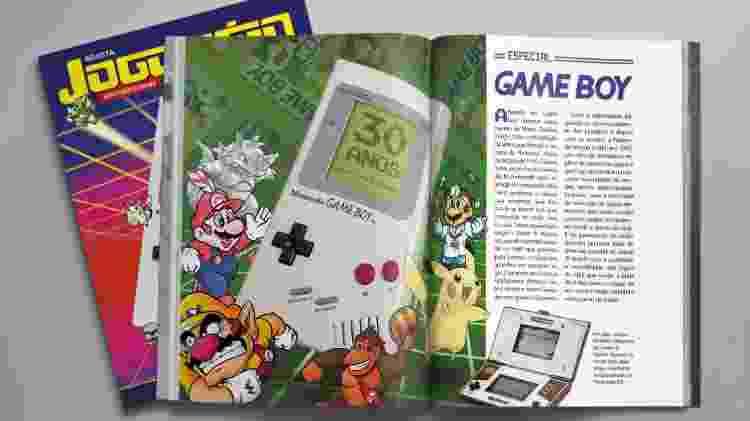 Edição especial da Jogo Véio no aniversário do Game Boy - Divulgação