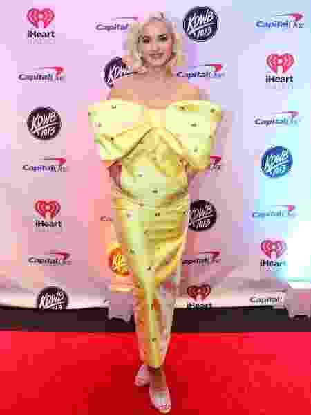 A cantora norte-americana Katy Perry - Adam Bettcher/Getty Images for iHeartMedia