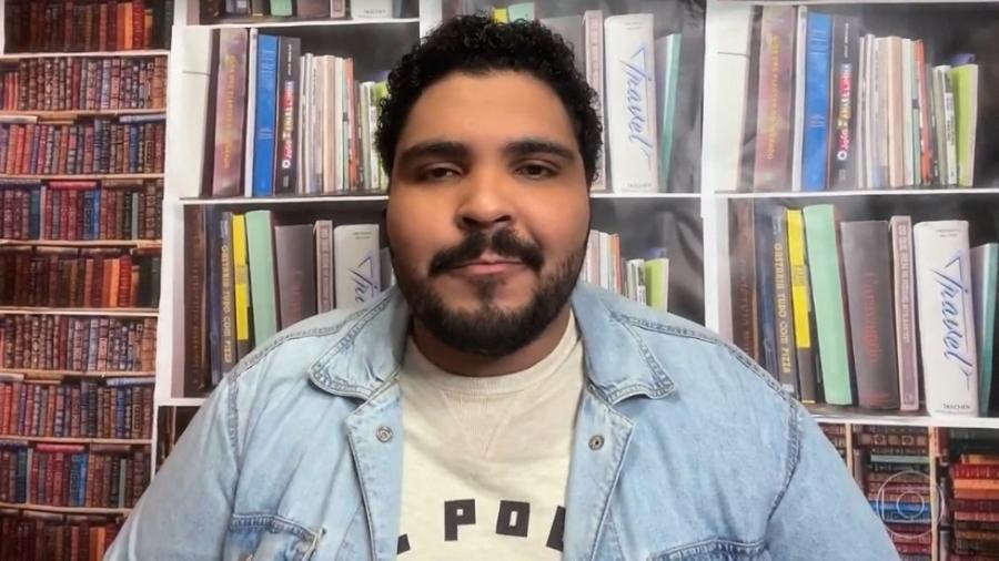 Paulo Vieira no Conversa com Bial  - Reprodução/vídeo