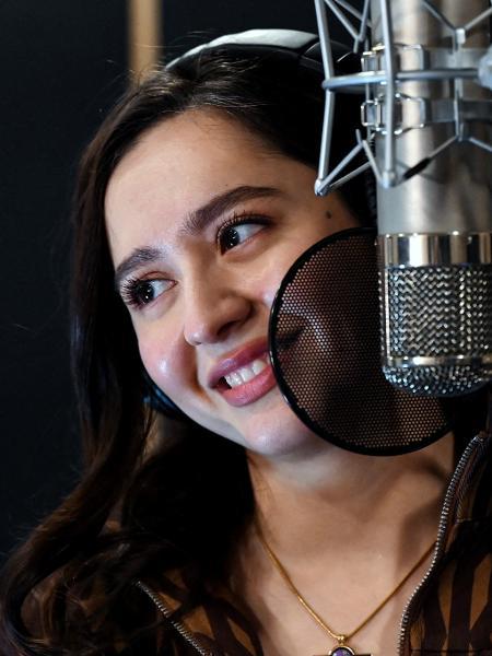 A cantora Manizha representa a Rússia no Eurovision de 2021 - KIRILL KUDRYAVTSEV/AFP