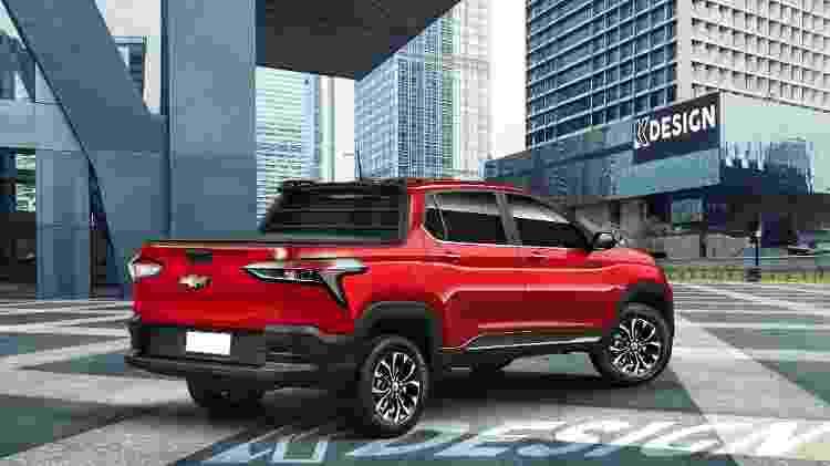 Projeção da nova picape da Chevrolet - Kleber Silva - KDesign AG/Reprodução - Kleber Silva - KDesign AG/Reprodução