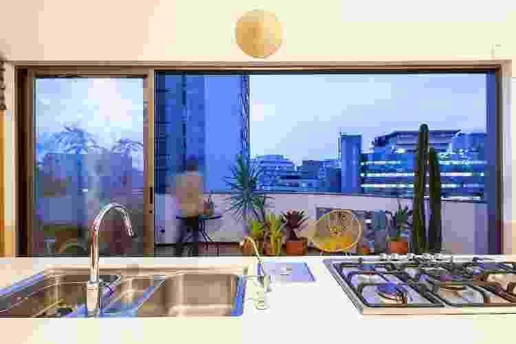 O projeto valoriza as vistas para a cidade: quase 360 graus com São Paulo aos pés - Pedro Vannucchi  - Pedro Vannucchi