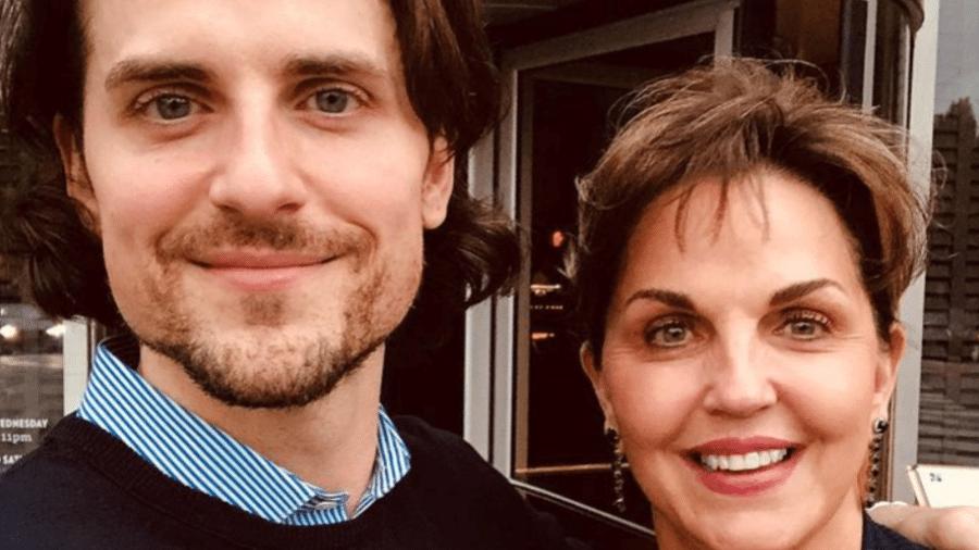 Jared Followill, do Kings of Leon, e a mãe, Betty Ann Followill - Reprodução/Instagram