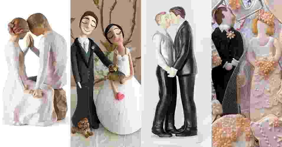 Casamento - Topos de Bolo - Montagem - Abertura - Divulgação/MontagemUOL
