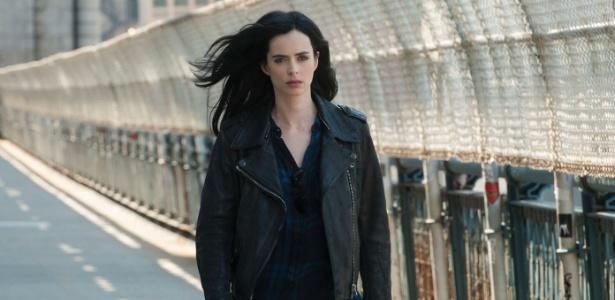 """Krysten Ritter é a protagonista da série """"Jessica Jones"""" - Divulgação"""