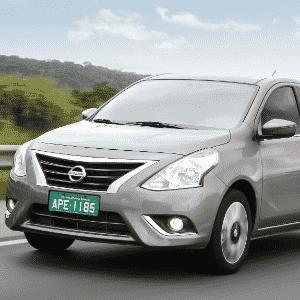 Nissan Versa Xtronic CVT - Divulgação