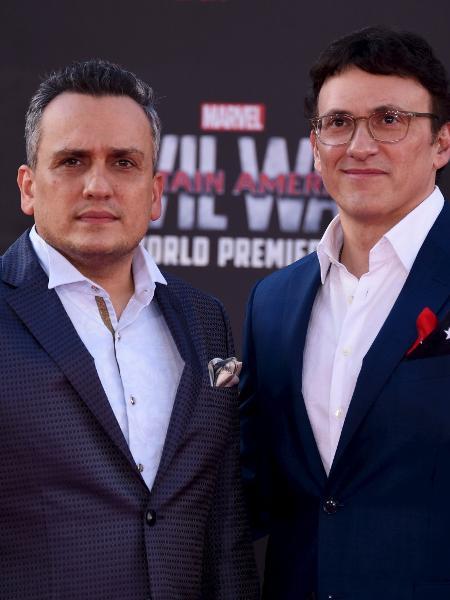 """Joe (esq.) e Anthony Russo, diretores de """"Vingadores: Guerra Infinita"""" - Phil McCarten/Reuters"""
