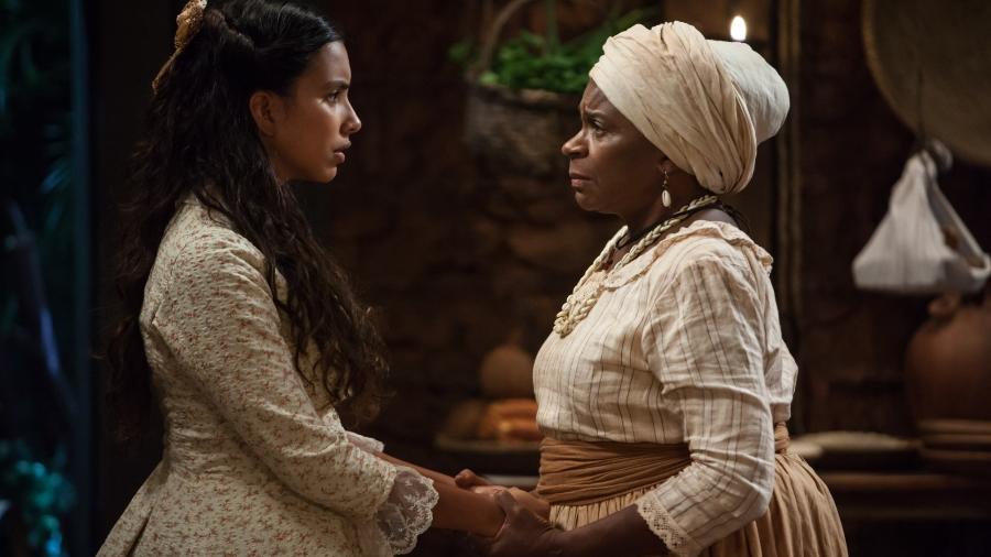 """A boa novela """"Escrava Mãe"""" está entre as produções próprias da Record - Edu Moraes/Rede Record"""