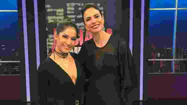 Mayra Cardi com Luciana Gimenez - Divulgação - Divulgação