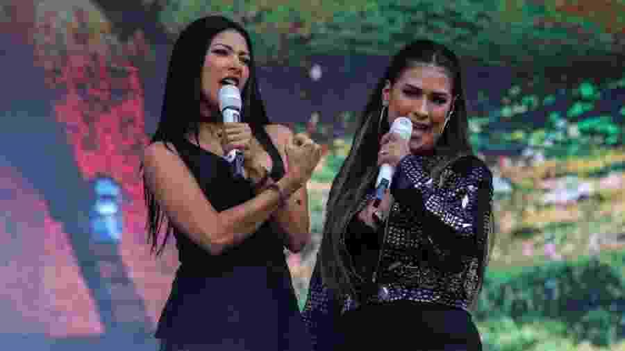 Simone e Simaria se apresentam no VillaMix Festival São Paulo, no Estádio do Morumbi - Amanda Perolei/UOL