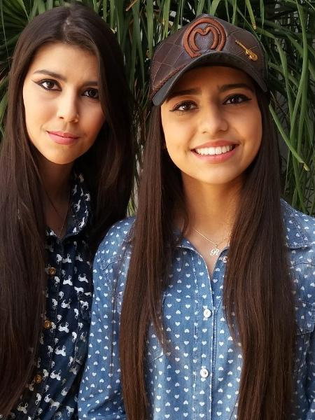 A dupla sertaneja Lorena & Rafaela - Reprodução