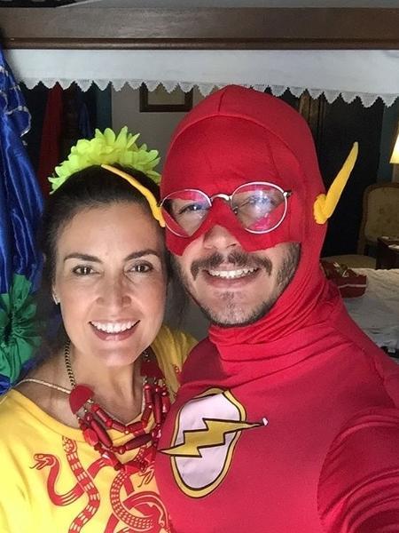 Fátima Bernardes e Túlio Gadêlha no pré-Carnaval de Pernambuco - Reprodução/Instagram