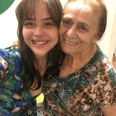 """Bella Piero e Ilva Niño após cena em """"O Outro Lado do Paraíso"""" - Reprodução/Instagram/bello.piero"""