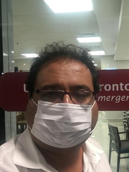 Geraldo Luís vai parar no hospital com Caxumba - Reprodução/Instagram/geraldoluísoficial
