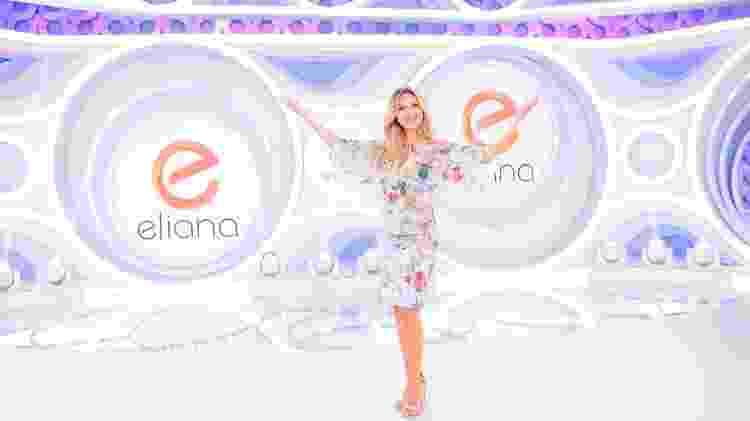 Novo cenário do programa da Eliana que terá estreia neste domingo - Gabriel Cardoso/SBT - Gabriel Cardoso/SBT