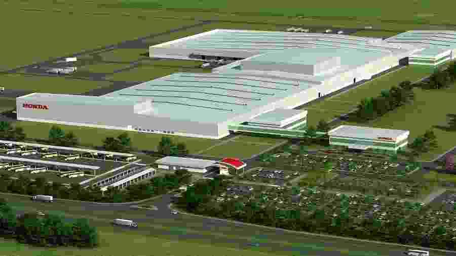 Projeto da fábrica da Honda em Itirapina (SP) - Divulgação