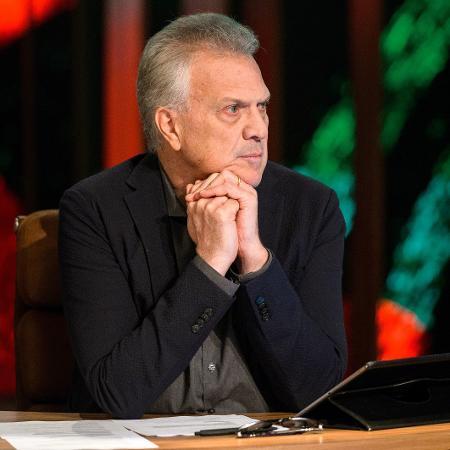 O jornalista e apresentador Pedro Bial - Ramón Vasconcellos/TV Globo