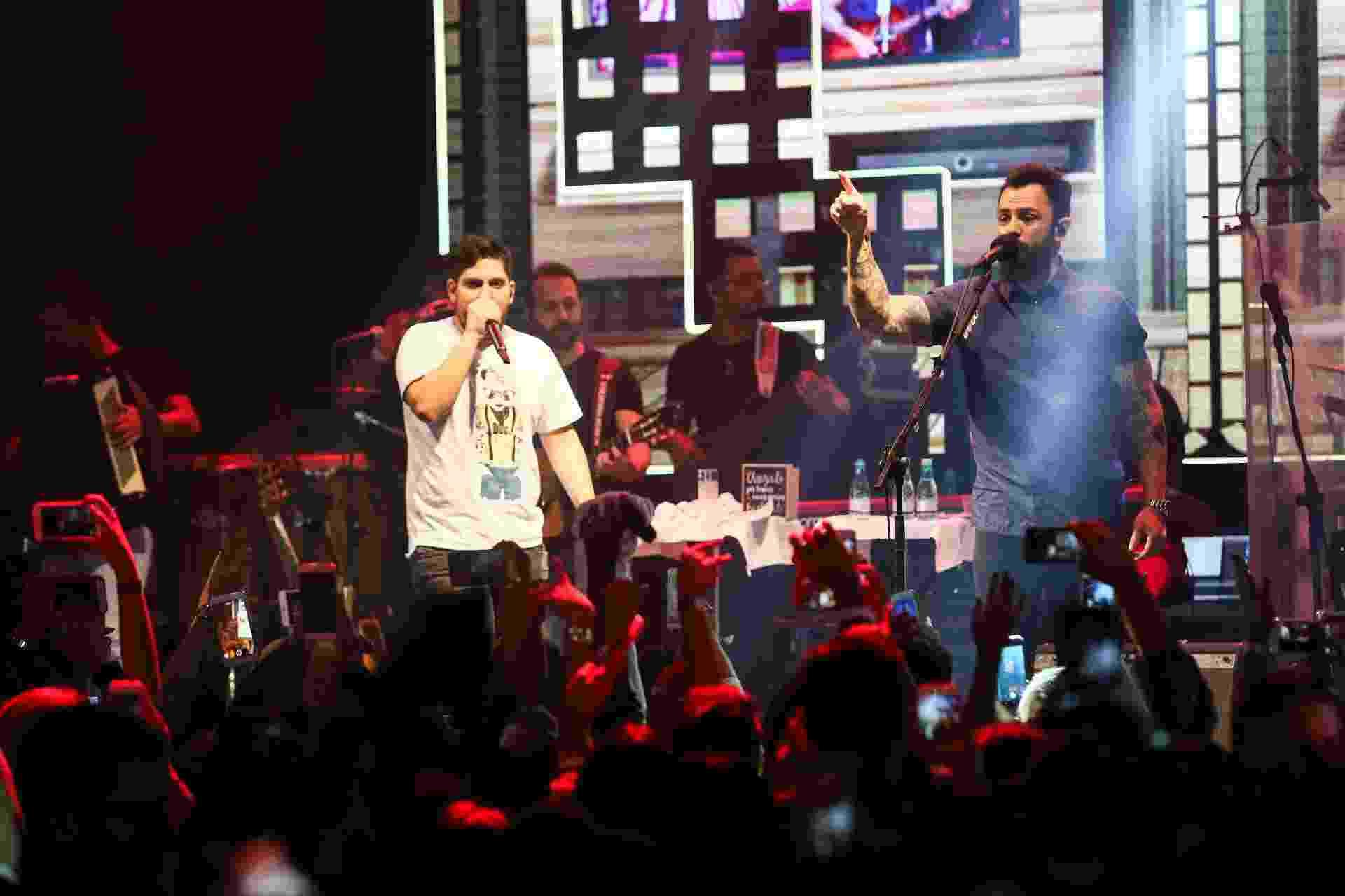 Jorge & Mateus celebram clube da bebida com show vip em SP - Iwi Onodera