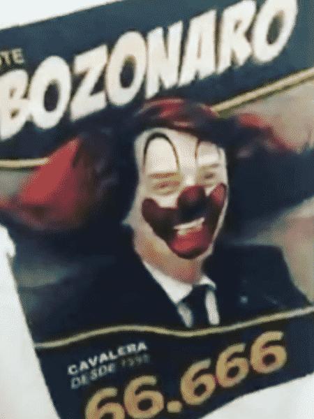 """A camiseta da discórdia: a estampa """"Bozonaro"""" criada pela Cavalera foi alvo de críticas nas redes sociais - Reprodução"""