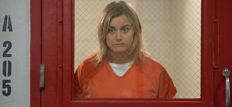 """A personagem Piper em cena da 6ª temporada de """"Orange Is The New Black"""" - Divulgação"""