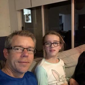 Shane e sua filha Sophia