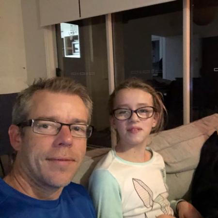 Shane e sua filha Sophia - Reprodução/Twitter