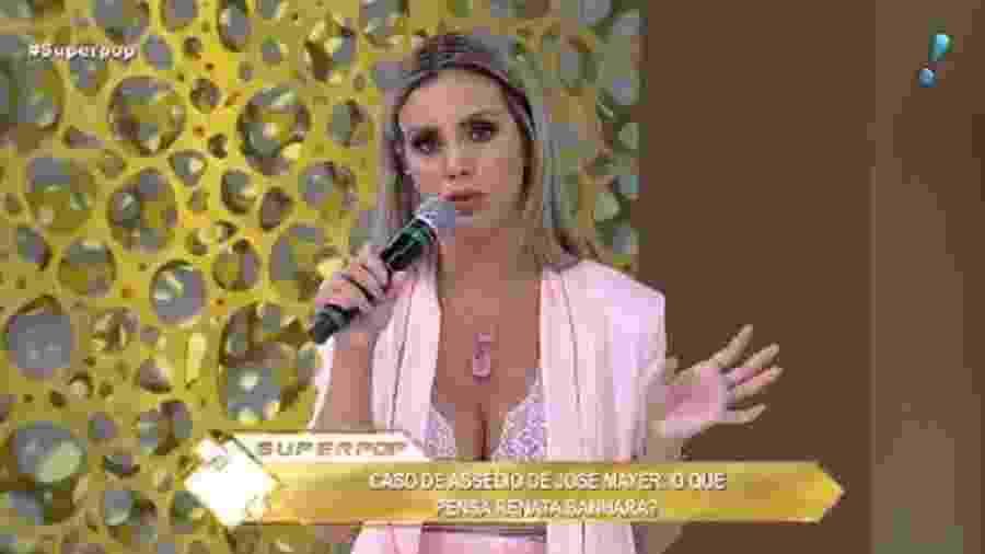 """Renata Banhara participa do """"Superpop"""" - Reprodução/RedeTV!"""