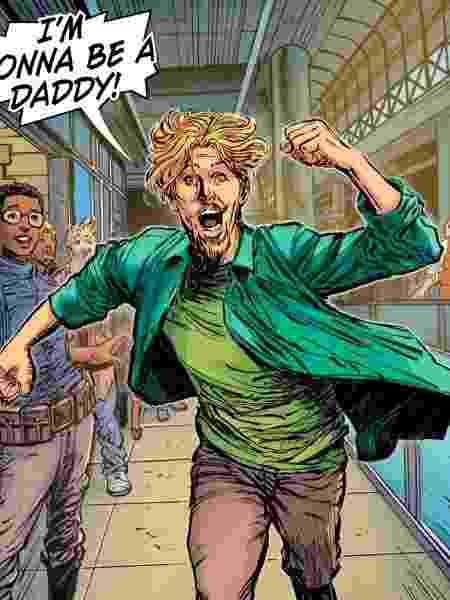 """Salsicha está animado para a paternidade em """"Scooby-Apocalipse"""" - Reprodução/Twitter"""