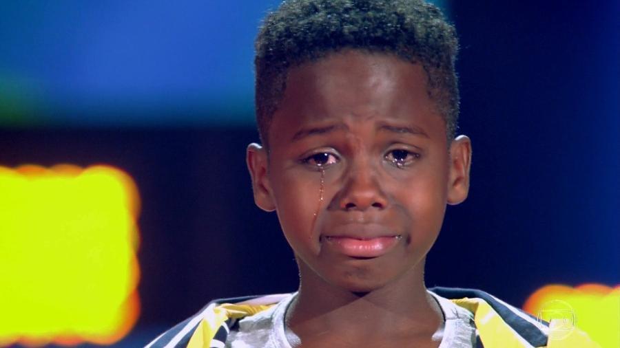 """Jeremias Rei, participante do """"The Voice Kids 2019"""" - Reprodução/TV Globo"""