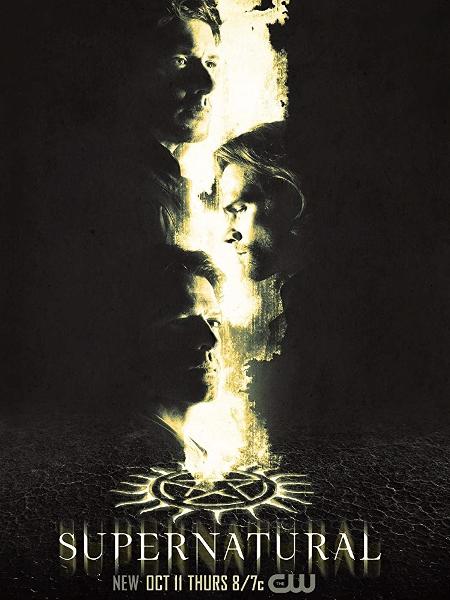 """Pôster de """"Supernatural"""" - Reprodução"""