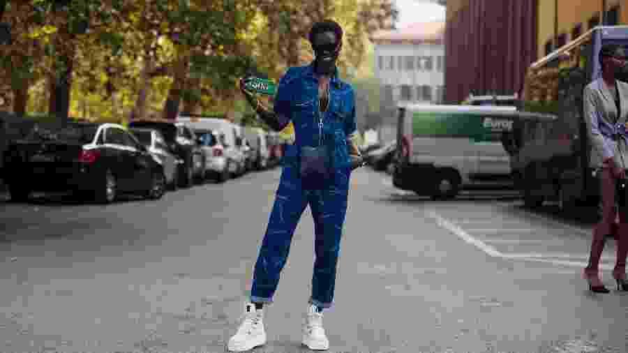 Adut Akech estreia na campanha da Valentino - Getty Images