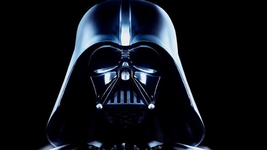 O capacete de Darth Vader - Reprodução