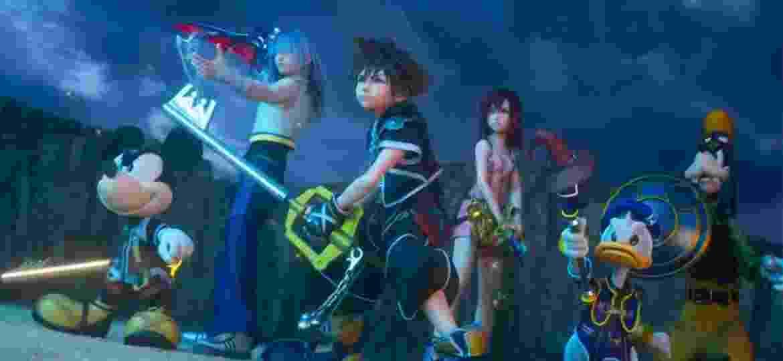 Kingdom Hearts 3 foi lançado no final de janeiro para PlayStation 4 e Xbox One - Reprodução