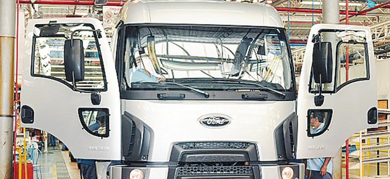Linha de montagem da Ford em São Bernardo do Campo, que será fechada durante 2019 - Divulgação