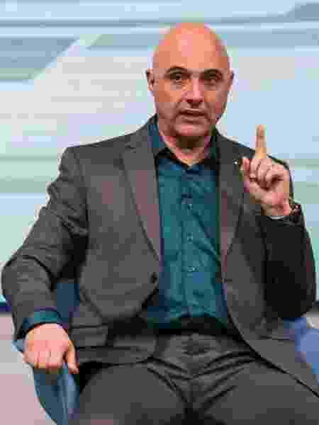 Maurício Galiotte, presidente do Palmeiras - Bob Paulino