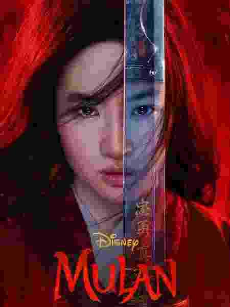 Disney mostra pôster da versão live-action de Mulan - Divulgação