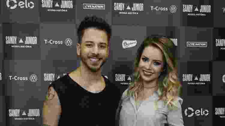 Sandy e Junior posam em coletiva de imprensa antes de show no Rio de Janeiro - Júlio César Guimarães/UOL