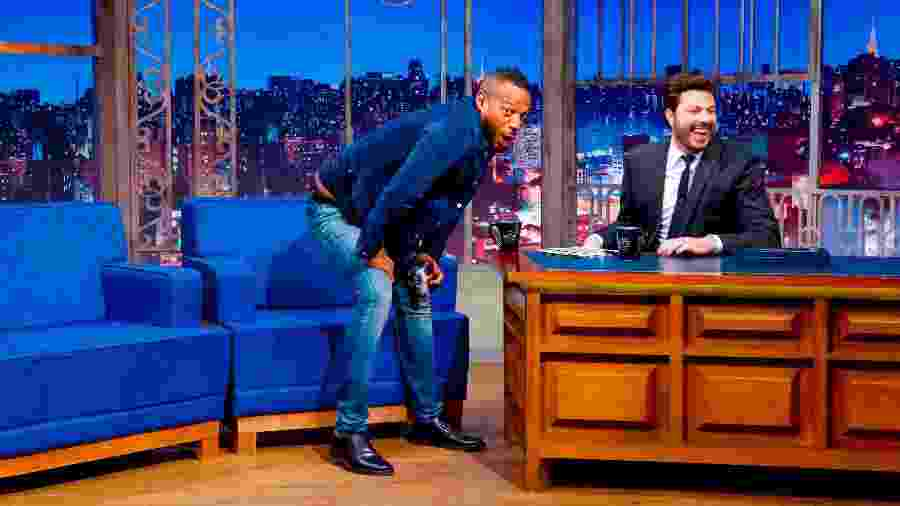 Marlon Wayans rebola no The Noite, programa do SBT - Beatriz Nadler/SBT