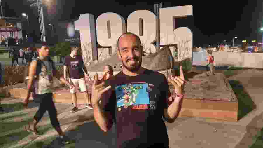 Leandro Lopes há oito vai a todos os dias de todas as edições do Rock in Rio - Leonardo Rodrigues/UOL