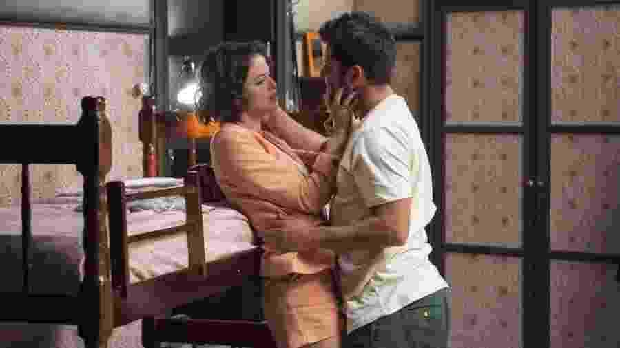 Josiane (Agatha Moreira) e William (Bruno Gissoni) - Reprodução/TV Globo/Estevam Avellar