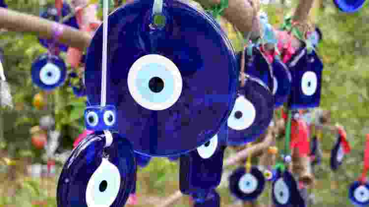 O olho turco, também conhecido com Nazar ou olho grego, é um famoso amuleto de proteção - iStock