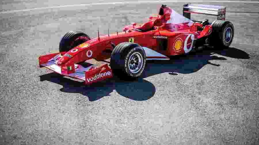 Ferrari F2002 - Divulgação