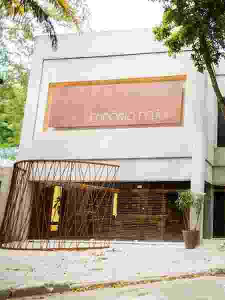Fachada do centro gastronômico Empório Delícia da nova novela das sete  - Divulgação TV Globo