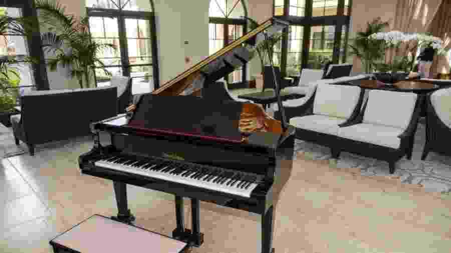 Como é possível roubar um piano de cauda? - Getty Images