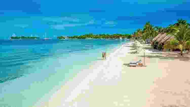 Praia da região de Negril, na Jamaica - Divulgação - Divulgação