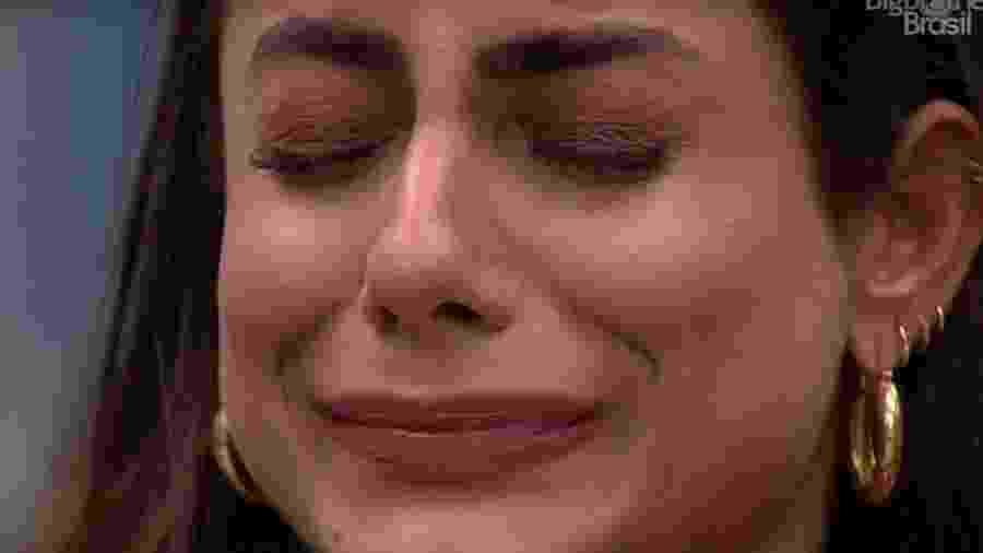 bbb 20: Mari chora ao conversar com Gizelly sobre votos no paredão - Reprodução/Globoplay