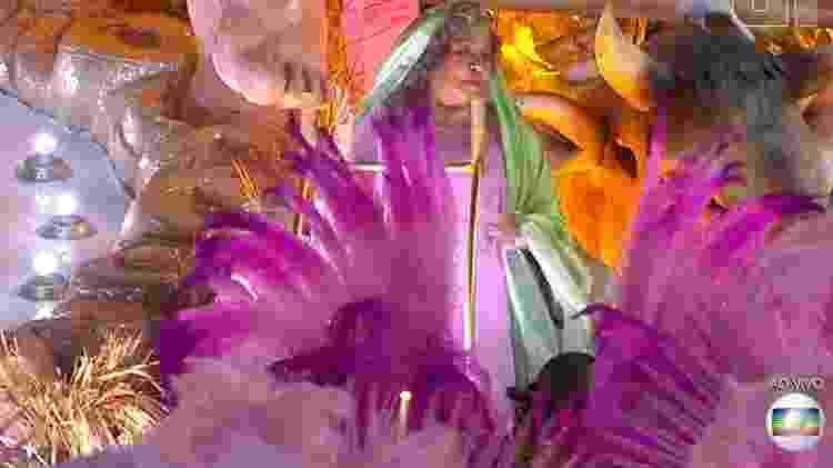 Alcione como Maria - Reprodução/TV Globo - Reprodução/TV Globo
