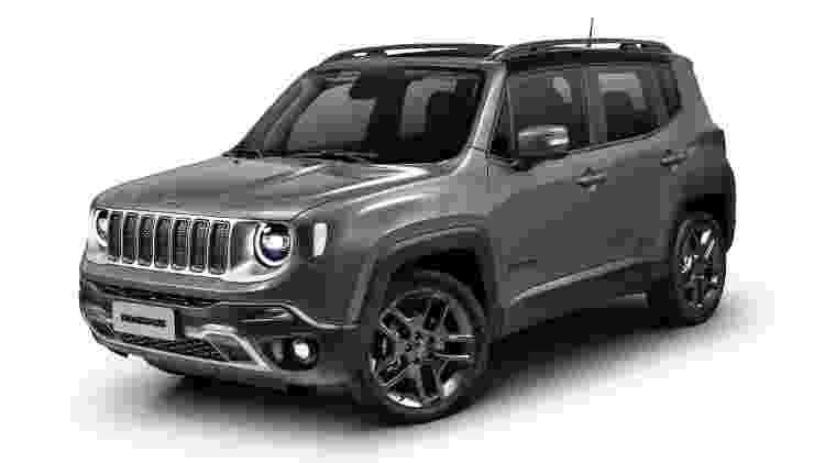 Jeep Renegade Limited 1.8 2020 - Divulgação - Divulgação